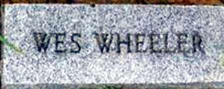 WHEELER, WESLEY - Randolph County, Arkansas | WESLEY WHEELER - Arkansas Gravestone Photos