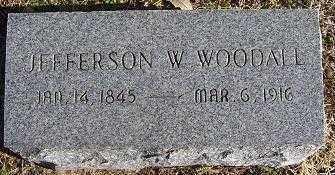 WOODALL, JEFFERSON W. - Randolph County, Arkansas   JEFFERSON W. WOODALL - Arkansas Gravestone Photos