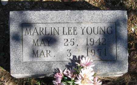 YOUNG, MARLIN LEE - Randolph County, Arkansas | MARLIN LEE YOUNG - Arkansas Gravestone Photos