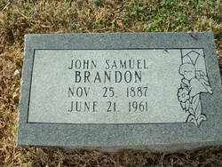 BRANDON, JOHN SAMUEL - Randolph County, Arkansas | JOHN SAMUEL BRANDON - Arkansas Gravestone Photos