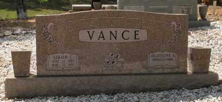 VANCE, GERALD LAWRENCE - Saline County, Arkansas | GERALD LAWRENCE VANCE - Arkansas Gravestone Photos