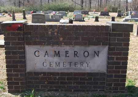* CAMERON CEMETERY, SIGN AND DIRECTIONS - Saline County, Arkansas | SIGN AND DIRECTIONS * CAMERON CEMETERY - Arkansas Gravestone Photos