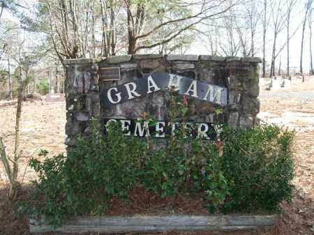 * GRAHAM CEMETERY, SIGN AND DIRECTIONS - Saline County, Arkansas | SIGN AND DIRECTIONS * GRAHAM CEMETERY - Arkansas Gravestone Photos