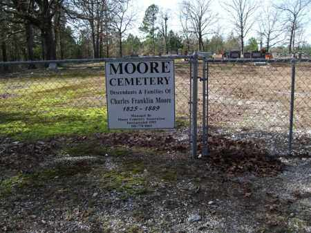* MOORE CEMETERY, PHOTO AND DIRECTIONS - Saline County, Arkansas | PHOTO AND DIRECTIONS * MOORE CEMETERY - Arkansas Gravestone Photos
