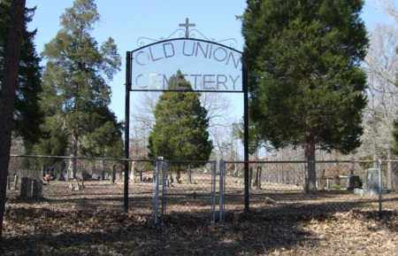* OLD UNION CEMETERY, PHOTO AND DIRECTIONS - Saline County, Arkansas   PHOTO AND DIRECTIONS * OLD UNION CEMETERY - Arkansas Gravestone Photos