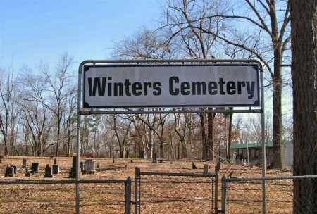 * OVERVIEW, WINTERS CEMETERY - Saline County, Arkansas | WINTERS CEMETERY * OVERVIEW - Arkansas Gravestone Photos
