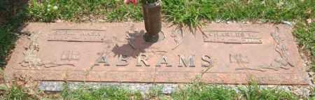 ABRAMS, SYBIL - Saline County, Arkansas | SYBIL ABRAMS - Arkansas Gravestone Photos