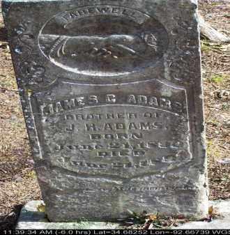 ADAMS, JAMES C - Saline County, Arkansas | JAMES C ADAMS - Arkansas Gravestone Photos