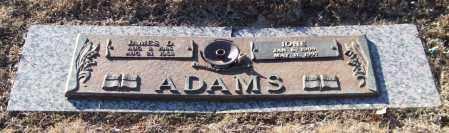 ADAMS, JAMES D. - Saline County, Arkansas   JAMES D. ADAMS - Arkansas Gravestone Photos