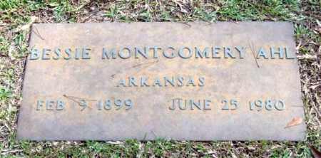 AHL, BESSIE - Saline County, Arkansas | BESSIE AHL - Arkansas Gravestone Photos