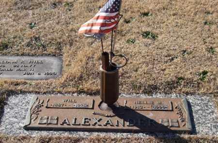 ALEXANDER, WILL - Saline County, Arkansas | WILL ALEXANDER - Arkansas Gravestone Photos