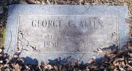 ALLEN, GEORGE C. - Saline County, Arkansas | GEORGE C. ALLEN - Arkansas Gravestone Photos