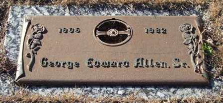 ALLEN, SR., GEORGE EDWARD - Saline County, Arkansas | GEORGE EDWARD ALLEN, SR. - Arkansas Gravestone Photos