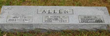 ALLEN, MARY S - Saline County, Arkansas | MARY S ALLEN - Arkansas Gravestone Photos