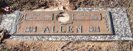 ALLEN, NELLIE O. - Saline County, Arkansas | NELLIE O. ALLEN - Arkansas Gravestone Photos