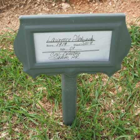 ALLENBAUGH, LAWRENCE - Saline County, Arkansas | LAWRENCE ALLENBAUGH - Arkansas Gravestone Photos