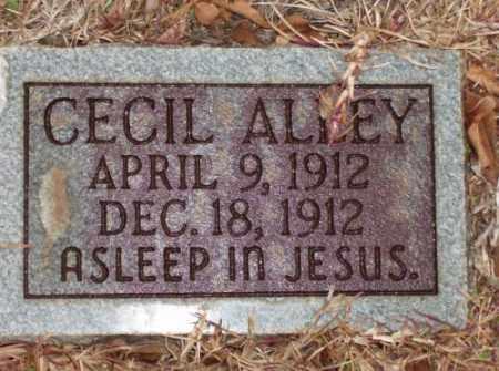 ALLEY, CECIL - Saline County, Arkansas | CECIL ALLEY - Arkansas Gravestone Photos