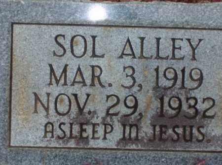 ALLEY, SOL - Saline County, Arkansas | SOL ALLEY - Arkansas Gravestone Photos