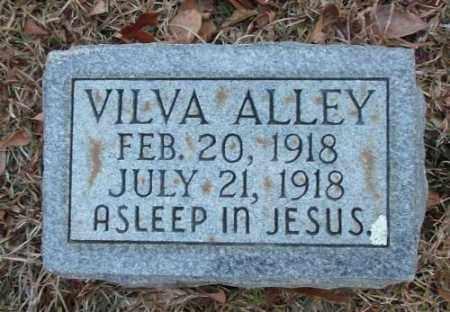 ALLEY, VILVA - Saline County, Arkansas | VILVA ALLEY - Arkansas Gravestone Photos