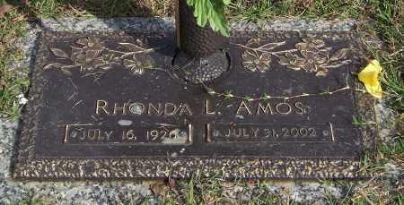 AMOS, RHONDA L. - Saline County, Arkansas   RHONDA L. AMOS - Arkansas Gravestone Photos
