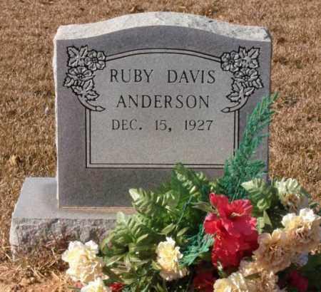 DAVIS ANDERSON, RUBY JEAN - Saline County, Arkansas   RUBY JEAN DAVIS ANDERSON - Arkansas Gravestone Photos