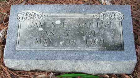 APPLEBY, JAMES E. - Saline County, Arkansas | JAMES E. APPLEBY - Arkansas Gravestone Photos