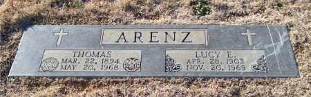 ARENZ, THOMAS - Saline County, Arkansas   THOMAS ARENZ - Arkansas Gravestone Photos