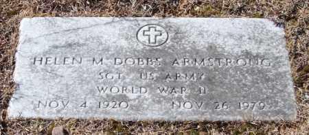 ARMSTRONG (VETERAN WWII), HELEN M - Saline County, Arkansas | HELEN M ARMSTRONG (VETERAN WWII) - Arkansas Gravestone Photos