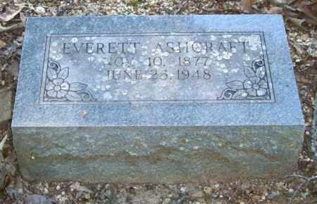 ASHCRAFT, EVERETT - Saline County, Arkansas | EVERETT ASHCRAFT - Arkansas Gravestone Photos