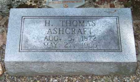 ASHCRAFT, H. THOMAS - Saline County, Arkansas   H. THOMAS ASHCRAFT - Arkansas Gravestone Photos