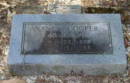 COOPER ASHCRAFT, NANCY - Saline County, Arkansas | NANCY COOPER ASHCRAFT - Arkansas Gravestone Photos
