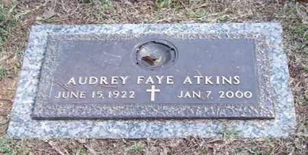 ATKINS, AUDREY FAYE - Saline County, Arkansas | AUDREY FAYE ATKINS - Arkansas Gravestone Photos