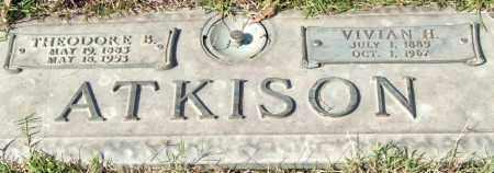 ATKISON, VIVIAN H. - Saline County, Arkansas | VIVIAN H. ATKISON - Arkansas Gravestone Photos
