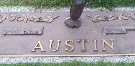 AUSTIN, ALVIN C. - Saline County, Arkansas | ALVIN C. AUSTIN - Arkansas Gravestone Photos