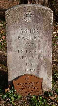 BAGLEY (VETERAN RW), ASHER - Saline County, Arkansas | ASHER BAGLEY (VETERAN RW) - Arkansas Gravestone Photos