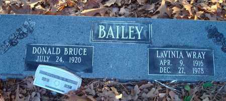 BAILEY, DONALD BRUCE - Saline County, Arkansas | DONALD BRUCE BAILEY - Arkansas Gravestone Photos