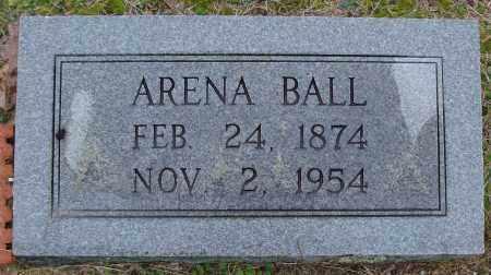 BALL, ARENA - Saline County, Arkansas | ARENA BALL - Arkansas Gravestone Photos
