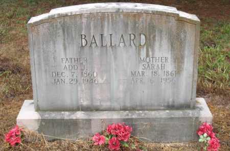BALLARD, SARAH ELIZABETH - Saline County, Arkansas | SARAH ELIZABETH BALLARD - Arkansas Gravestone Photos