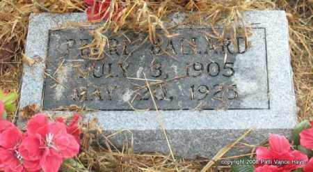 BALLARD, PEARL - Saline County, Arkansas | PEARL BALLARD - Arkansas Gravestone Photos