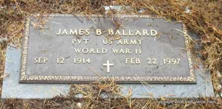 BALLARD (VETERAN WWII), JAMES B - Saline County, Arkansas | JAMES B BALLARD (VETERAN WWII) - Arkansas Gravestone Photos