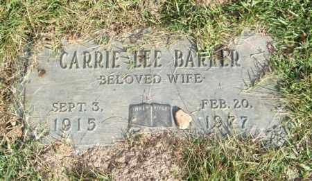 BARKER, CARRIE LEE - Saline County, Arkansas | CARRIE LEE BARKER - Arkansas Gravestone Photos