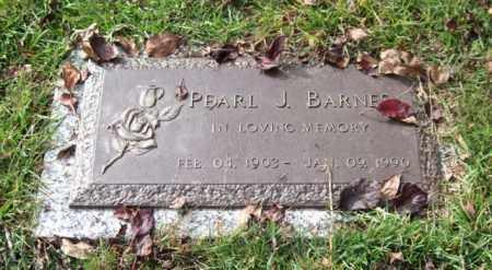 BARNES, PEARL J. - Saline County, Arkansas   PEARL J. BARNES - Arkansas Gravestone Photos