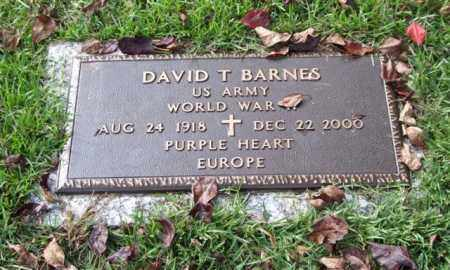 BARNES (VETERAN WWII), DAVID T - Saline County, Arkansas | DAVID T BARNES (VETERAN WWII) - Arkansas Gravestone Photos