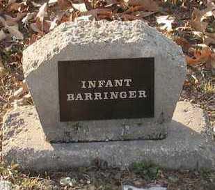 BARRINGER, INFANT - Saline County, Arkansas   INFANT BARRINGER - Arkansas Gravestone Photos