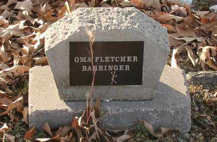 FLETCHER BARRINGER, OMA - Saline County, Arkansas   OMA FLETCHER BARRINGER - Arkansas Gravestone Photos