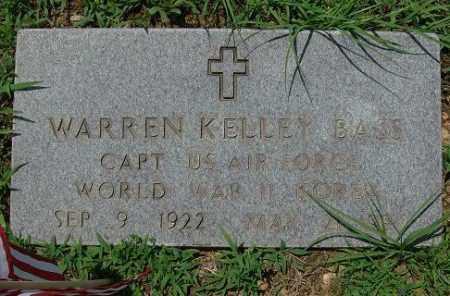 BASS (VETERAN 2 WARS), WARREN KELLEY - Saline County, Arkansas | WARREN KELLEY BASS (VETERAN 2 WARS) - Arkansas Gravestone Photos