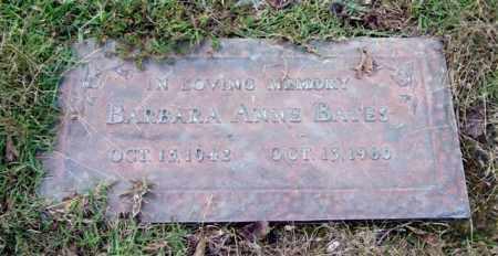 BATES, BARBARA ANNE - Saline County, Arkansas   BARBARA ANNE BATES - Arkansas Gravestone Photos