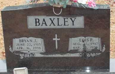 BAXLEY, LOIS P. - Saline County, Arkansas | LOIS P. BAXLEY - Arkansas Gravestone Photos