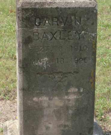 BAXLEY, GARVIN - Saline County, Arkansas | GARVIN BAXLEY - Arkansas Gravestone Photos
