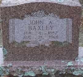 BAXLEY, JOHN A. - Saline County, Arkansas | JOHN A. BAXLEY - Arkansas Gravestone Photos